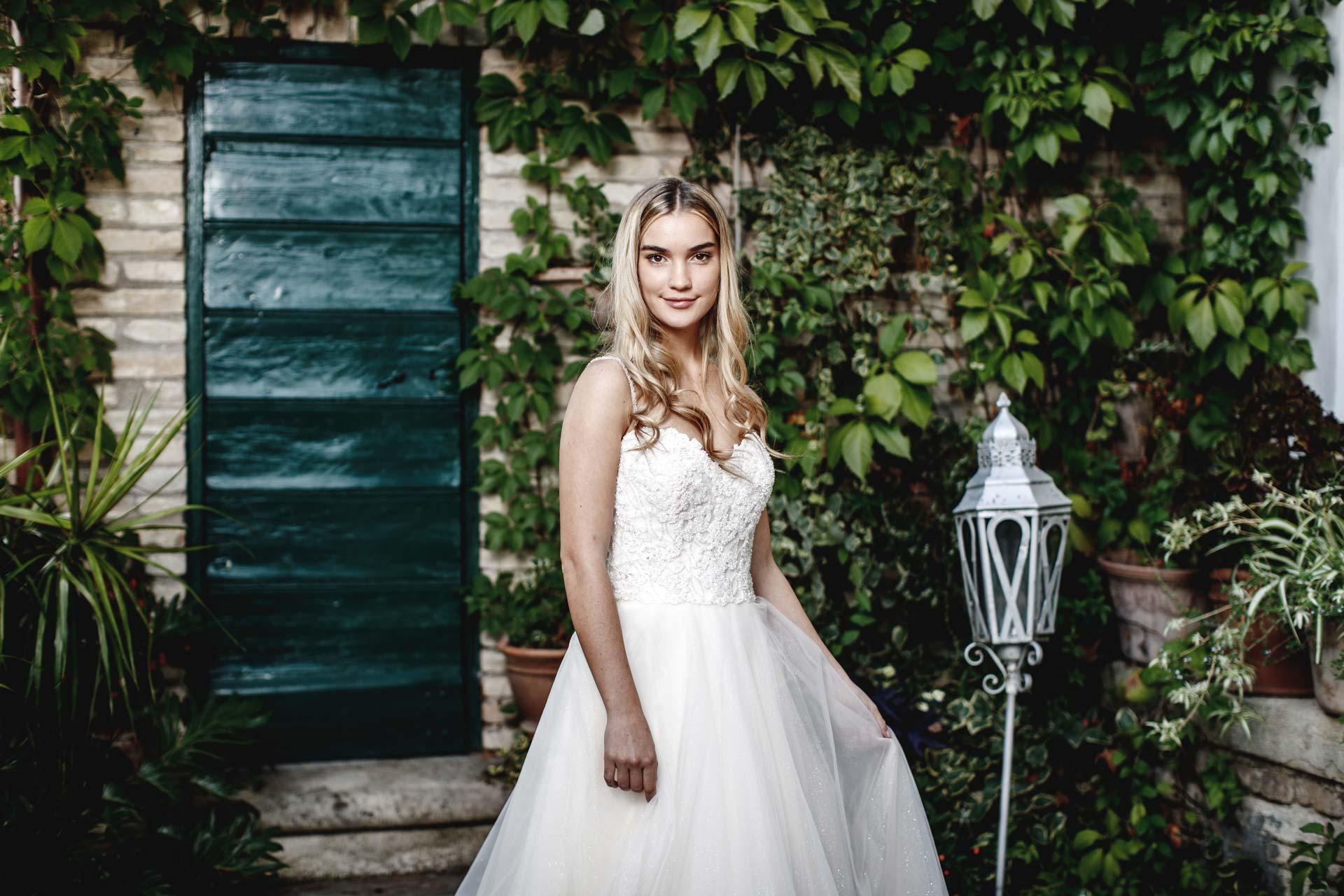 collezione romantica abiti sposa 2020