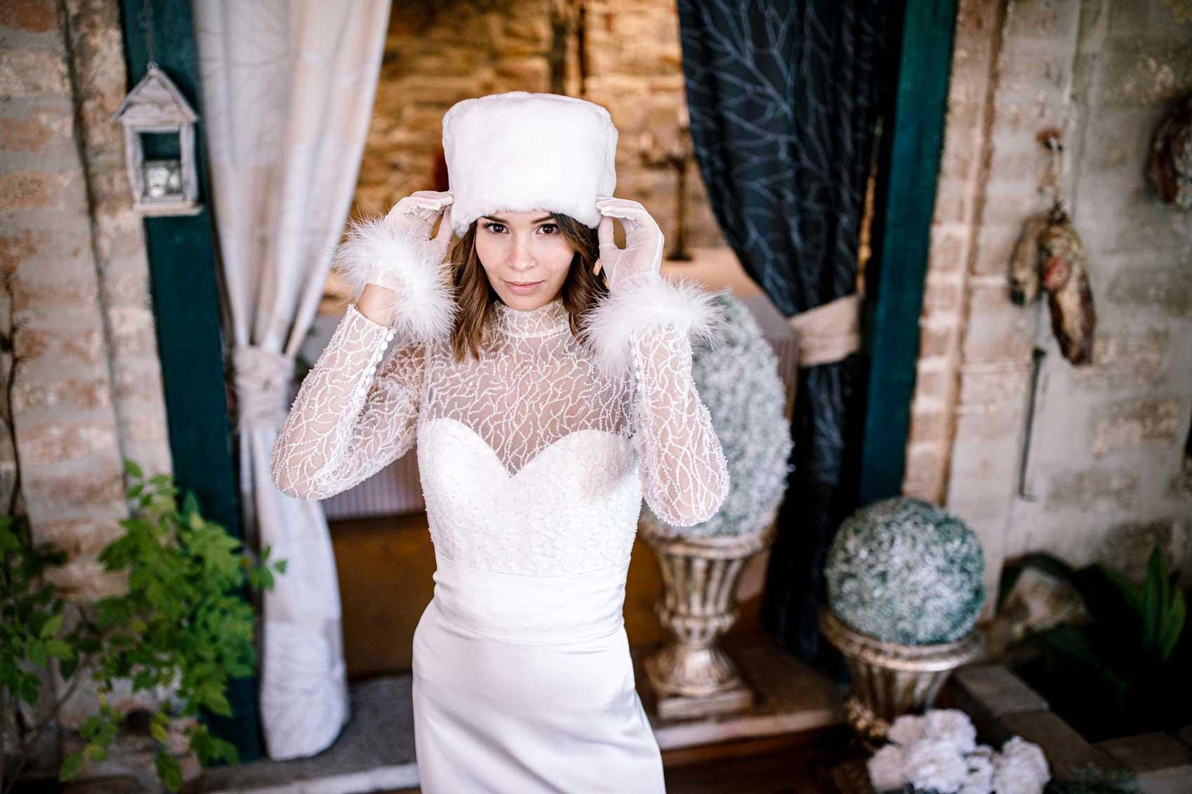 Abiti da sposa invernali Mattioli Sposi